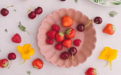 🌿 Recette : Salade de fraises, orange, fleur d'oranger