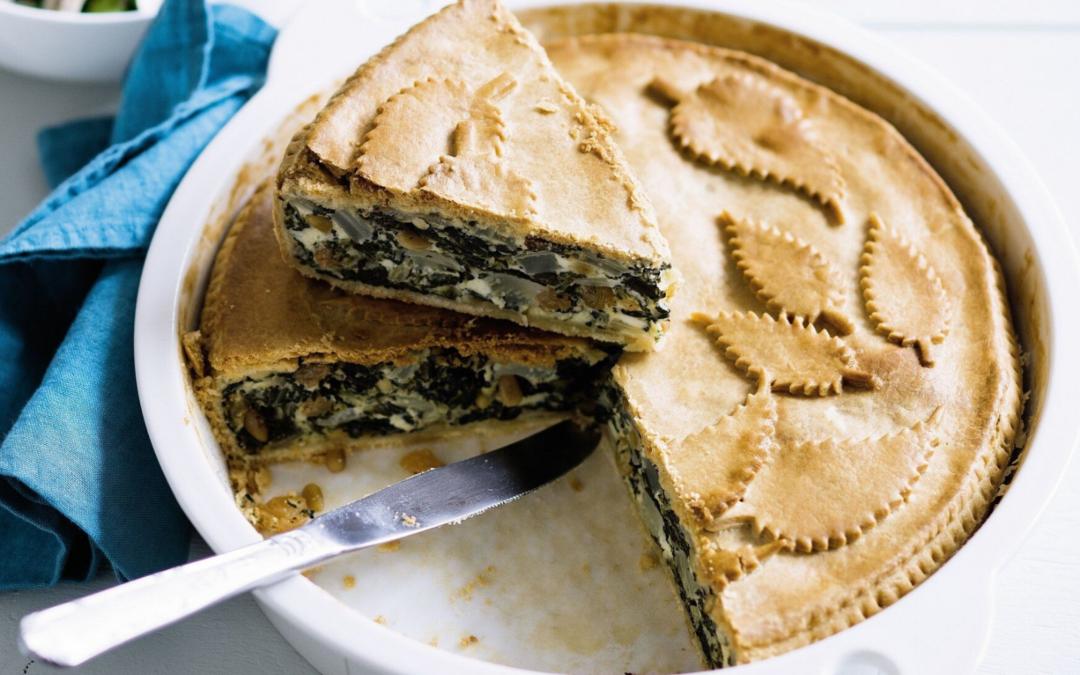 🌿 Recette : Tarte aux blettes parmesan et pignons